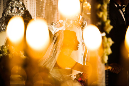 Egyptian Palestian wedding at the H hotel in Dubai